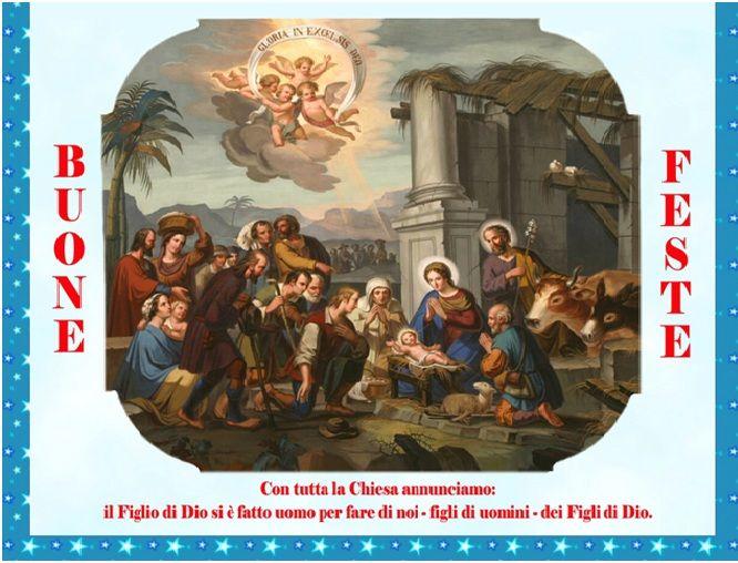 Immagini Con Scritte Di Buon Natale.Gli Auguri Di Buon Natale Dai Padri Barnabiti Parrocchia